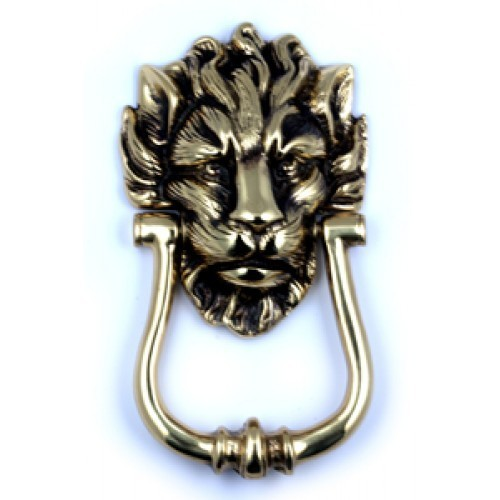 Lion Door Knocker H E Savill Period Furniture Fittings
