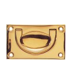 Brass Military Fitting box handles lifting handles campaign fittings